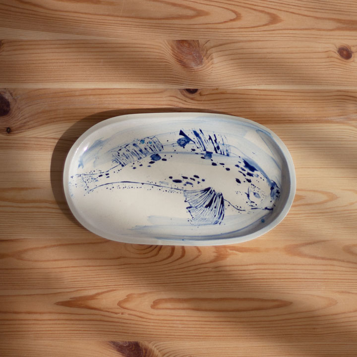 Fish Ceramic Tray