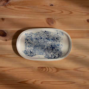 Gyotaku Ceramic Tray