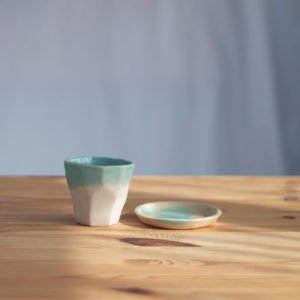 ceramic cup and dish coffee espresso