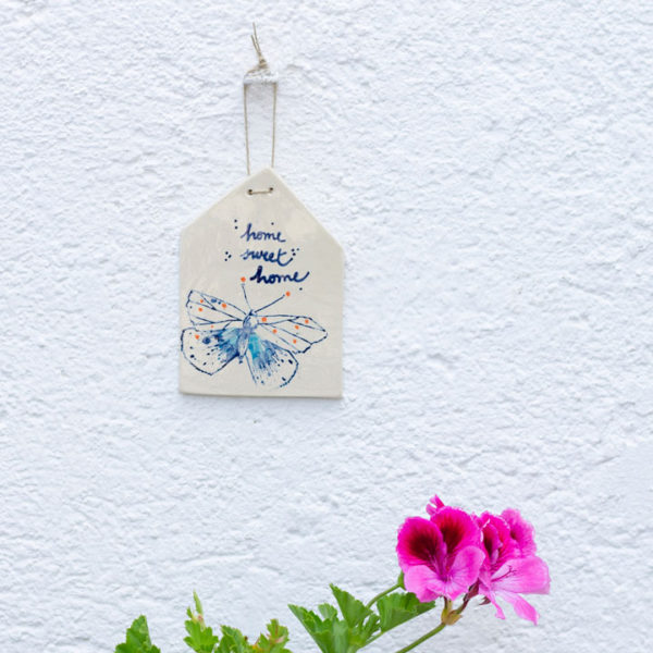 Ceramic wall hanging heart
